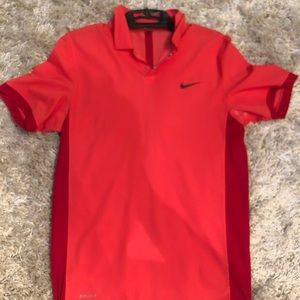 Nike Tiger Woods Collection Dri Fit Polo size S.